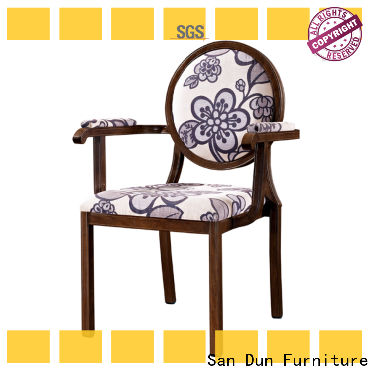 factory price aluminum chair directly sale for coffee shop