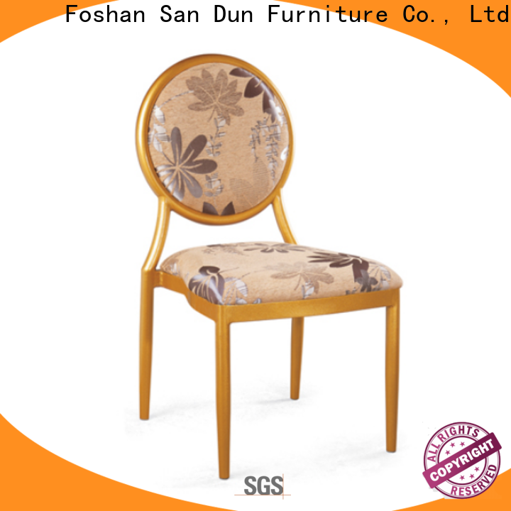reliable aluminium garden chairs factory direct supply for restaurant