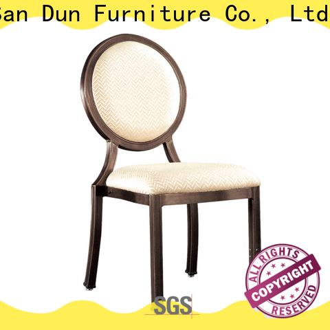 San Dun aluminum table chairs wholesale for sale