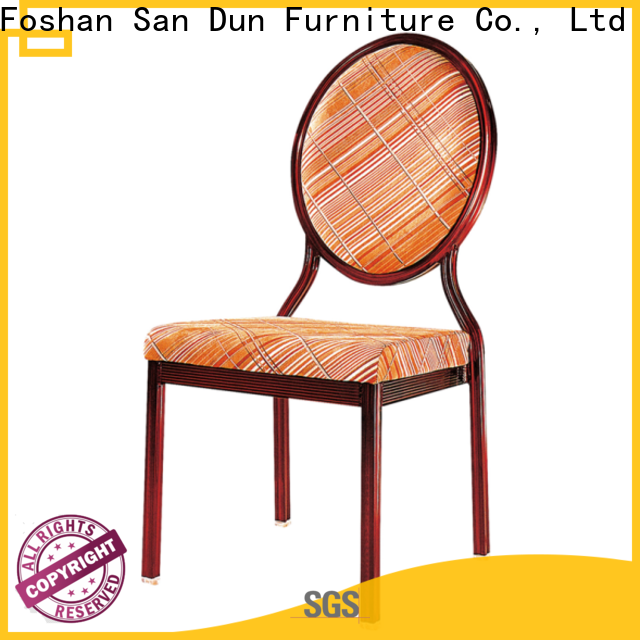 San Dun aluminium cafe chairs suppliers for conference