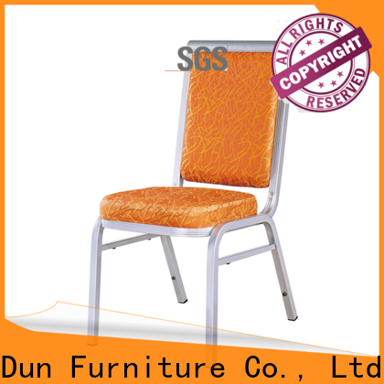 San Dun stable aluminum dining room chairs company bulk production