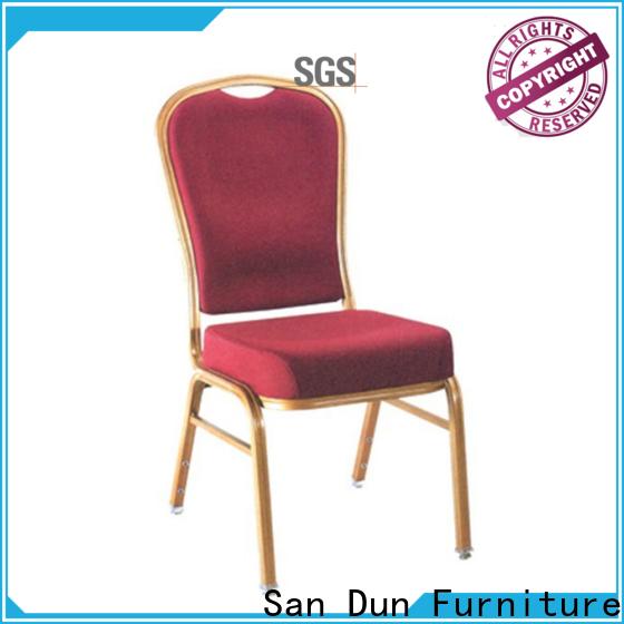 San Dun aluminum banquet chair with good price for restaurant