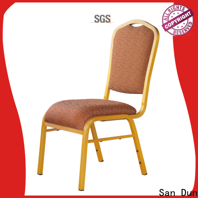 San Dun stackable aluminum patio chairs wholesale for conference