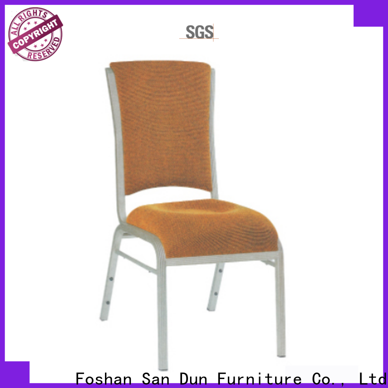 San Dun aluminium office chair best supplier for party hall