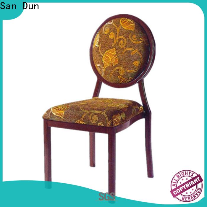 San Dun aluminium garden chairs manufacturer for conference