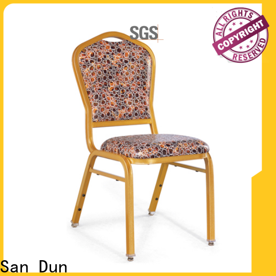 elegant aluminum stacking chairs supplier bulk production