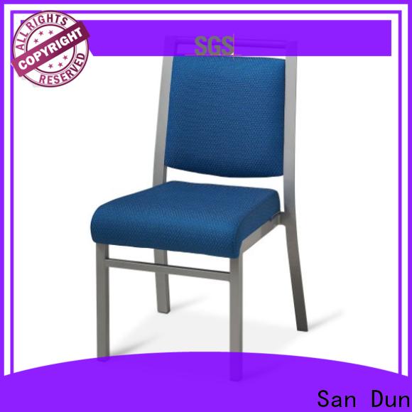 San Dun hot-sale aluminum restaurant chairs manufacturer for meeting