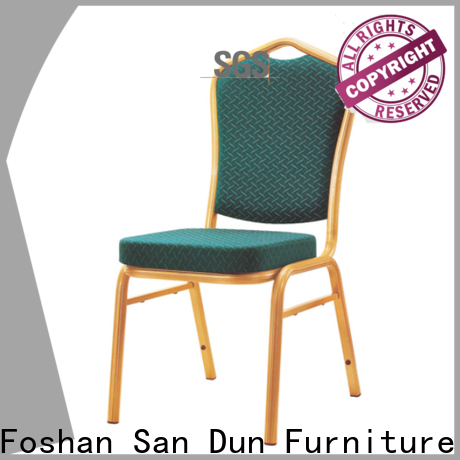 San Dun aluminum dining chairs directly sale for restaurant