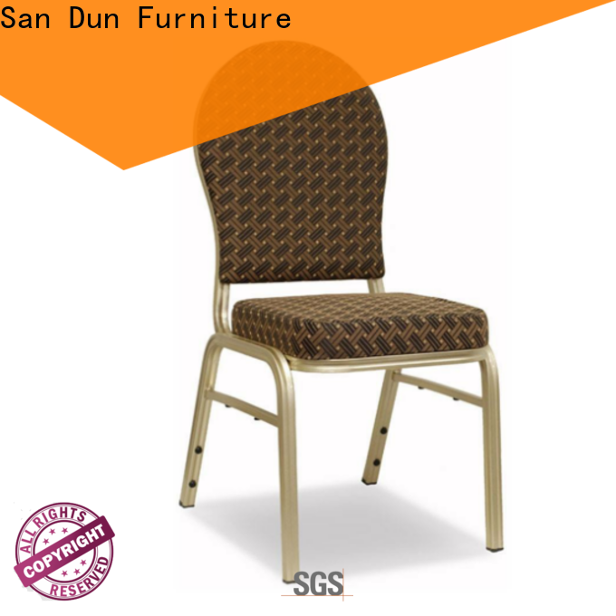 San Dun top selling aluminum table chairs best supplier for promotion