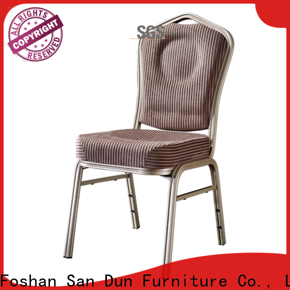 San Dun elegant aluminum dining room chairs with good price for conference