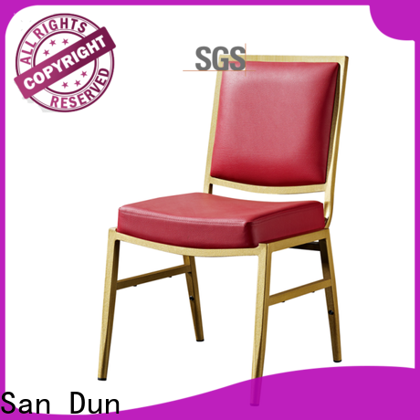 best value stackable aluminum patio chairs factory for hotel banquet