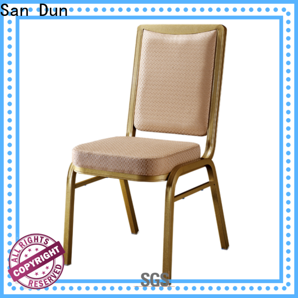 San Dun best aluminum kitchen chairs series for party hall
