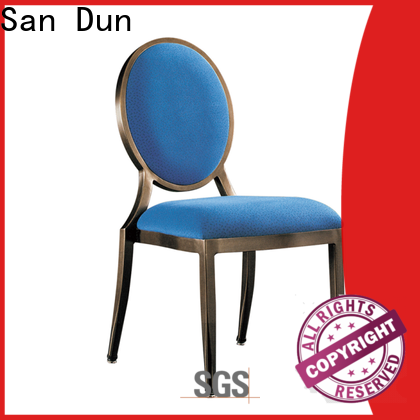 San Dun aluminum banquet chair manufacturer for coffee shop