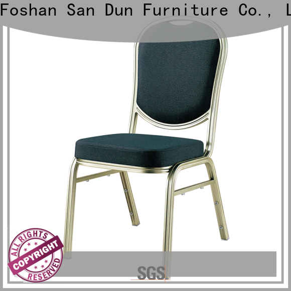 San Dun cheap aluminum chairs supplier for party hall