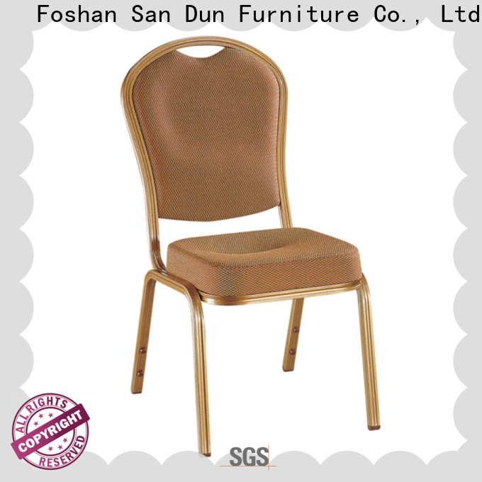 San Dun cast aluminum chairs supplier for promotion