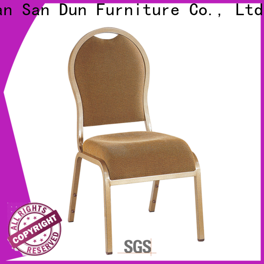 San Dun aluminium banqueting chairs inquire now for restaurant
