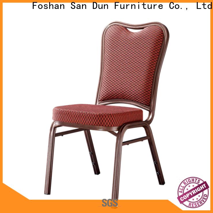 San Dun quality chair aluminum wholesale for coffee shop