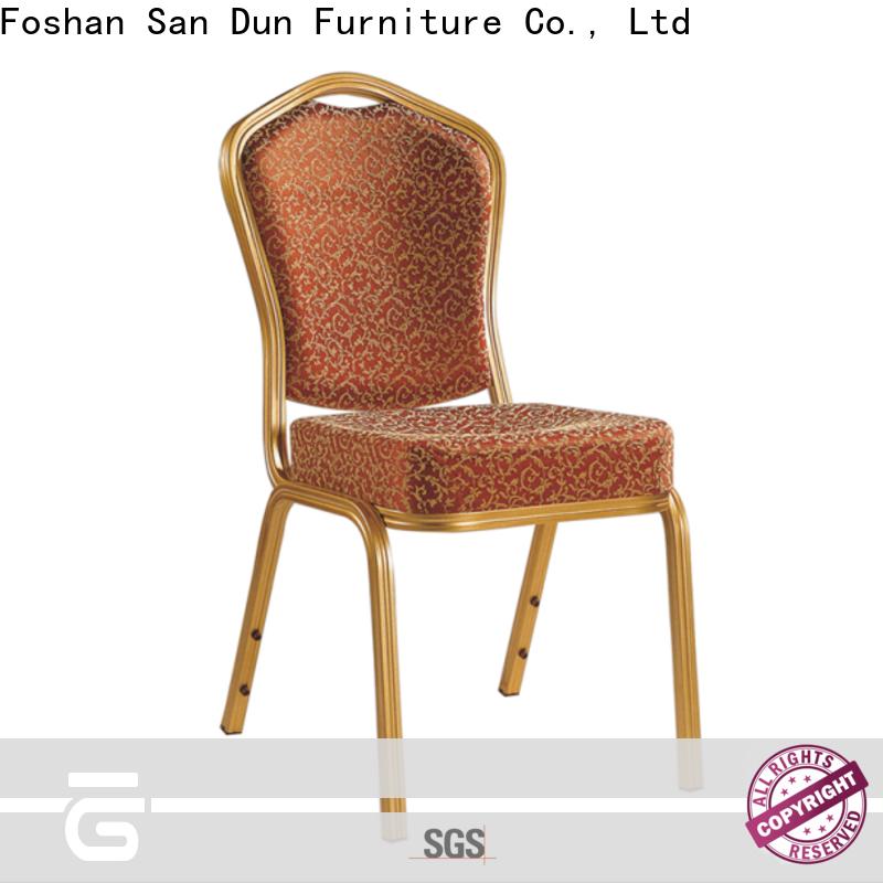 San Dun hot selling aluminium chair cushions best manufacturer for restaurant