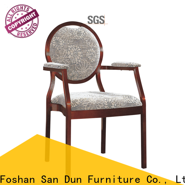 San Dun chair aluminum from China for coffee shop