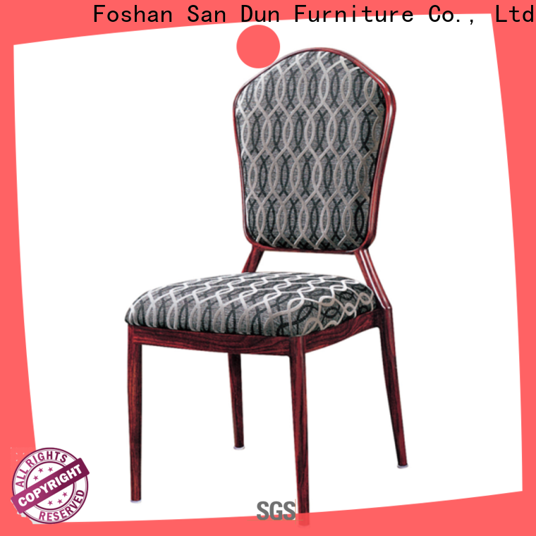 San Dun aluminum desk chair supplier for party hall