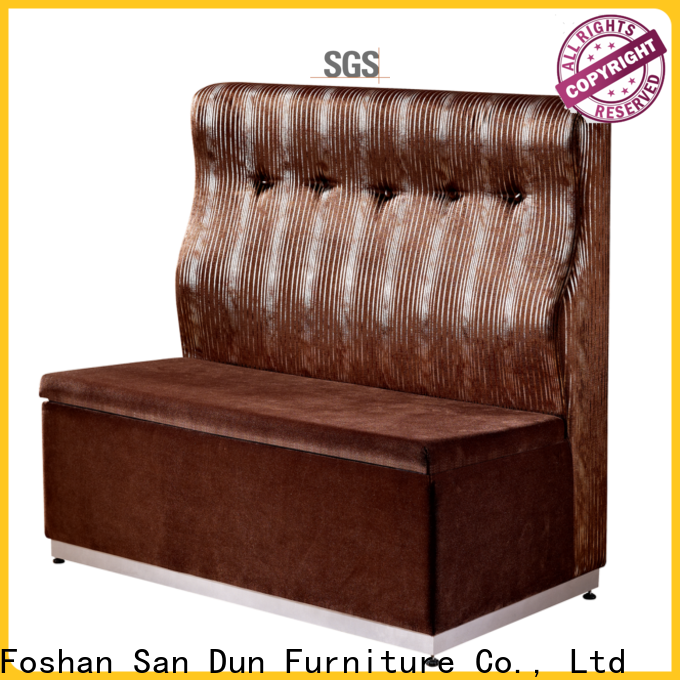 San Dun durable cafe soffa from China bulk production