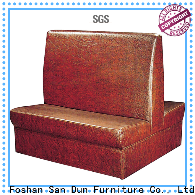 San Dun hot-sale cafe loveseat supply for hotel