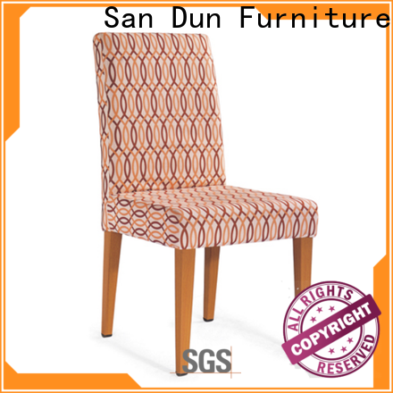 promotional wooden chair upholstered seat factory for wedding