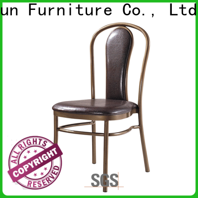 elegant aluminium stacking chairs supply for conference