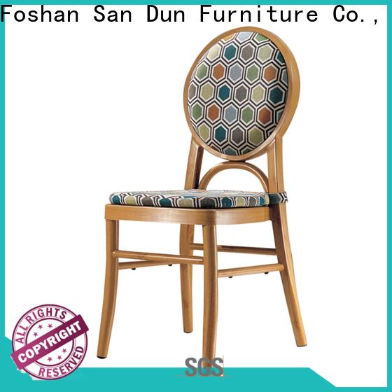 San Dun aluminum banquet chair from China bulk production