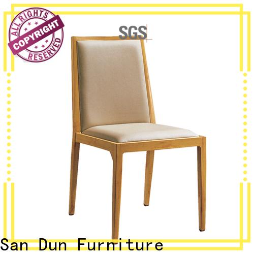 San Dun aluminium cafe chairs suppliers for coffee shop