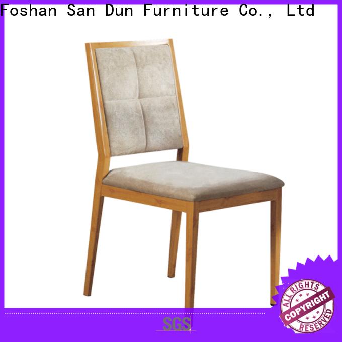 San Dun stackable aluminum patio chairs supplier bulk production