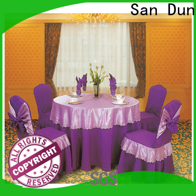 San Dun factory price wedding chair covers from China for meeting