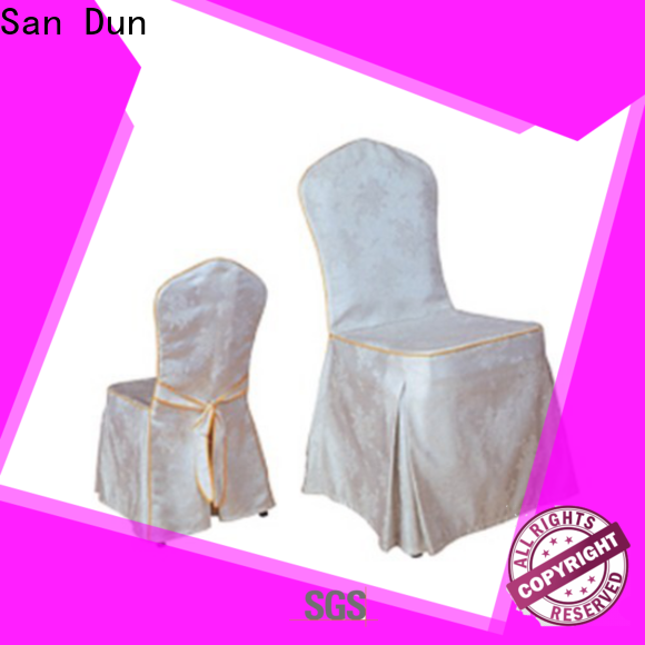 San Dun banquet table linens directly sale for wedding