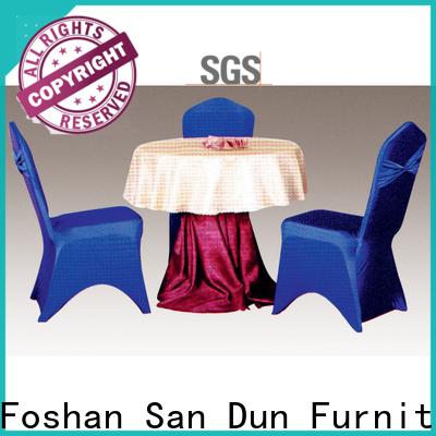 San Dun banquet tablecloths best supplier for promotion