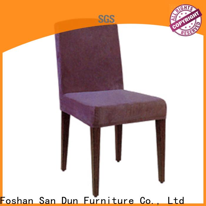 San Dun luxury wooden chairs best supplier for restaurant