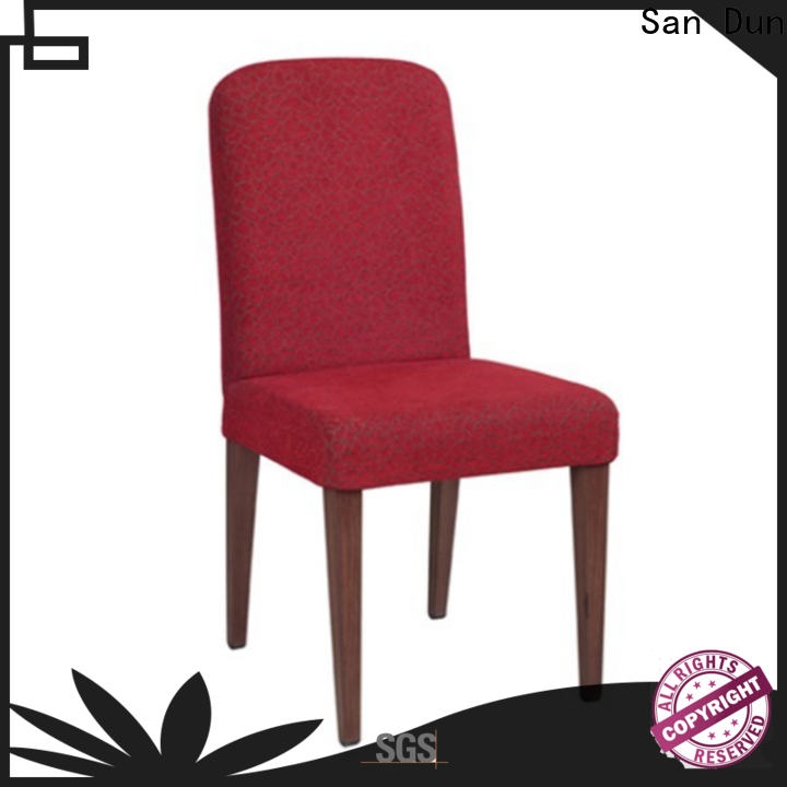 San Dun latest wooden chair design manufacturer bulk production