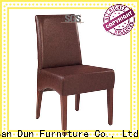 San Dun wood restaurant chairs manufacturer for restaurant