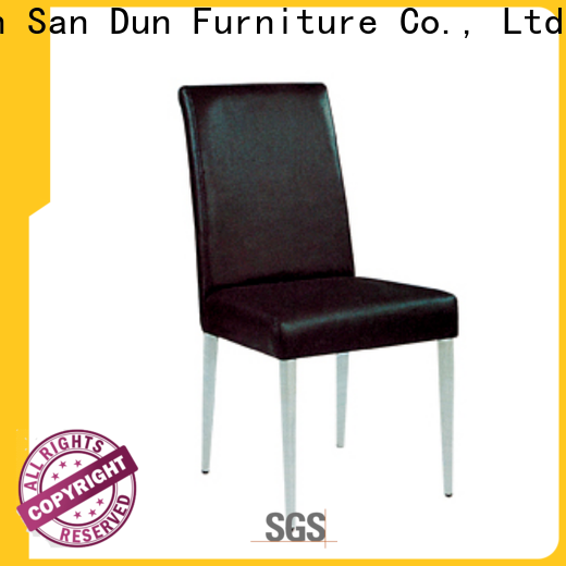 San Dun cost-effective wood furniture chair design with good price for promotion