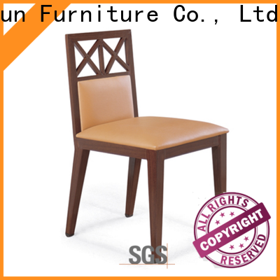 San Dun best price wood restaurant chairs series for hotel