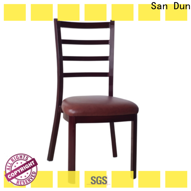 practical wooden dining chair design series for hotel