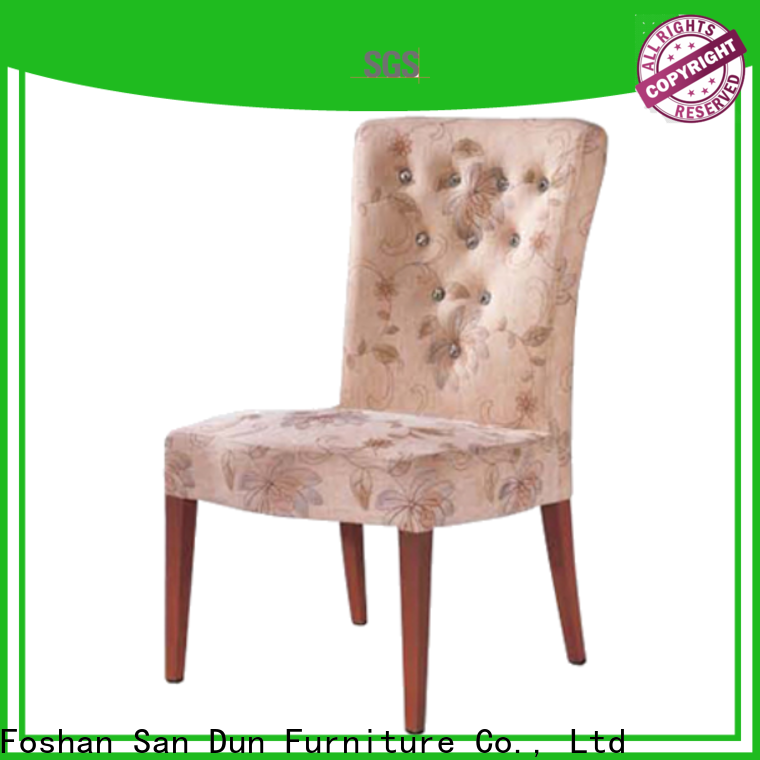 San Dun stylish wooden chair supplier for restaurant