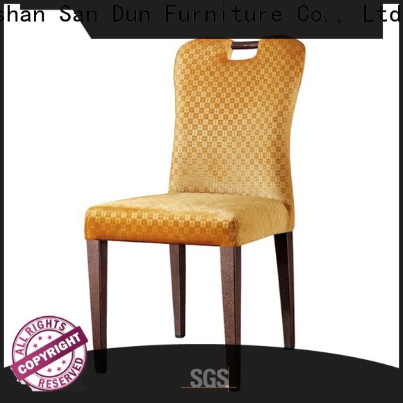 San Dun wooden chair upholstered seat manufacturer bulk buy