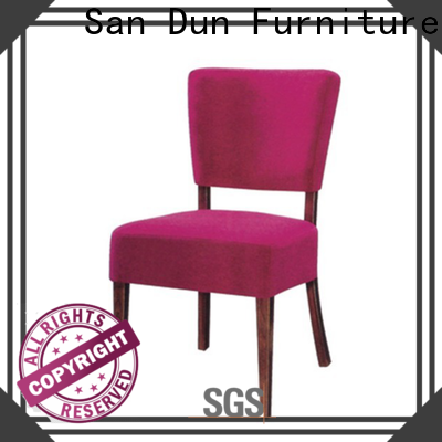 San Dun factory price wooden dining chair design factory for promotion