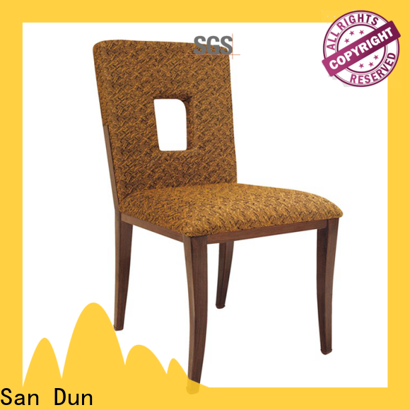 San Dun elegant simple wooden dining chairs company for restaurant