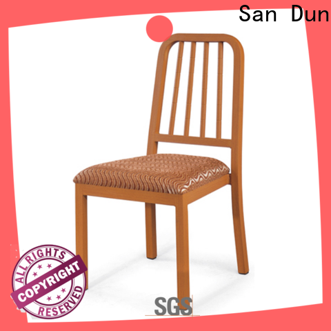 San Dun simple wooden dining chairs with good price for hotel
