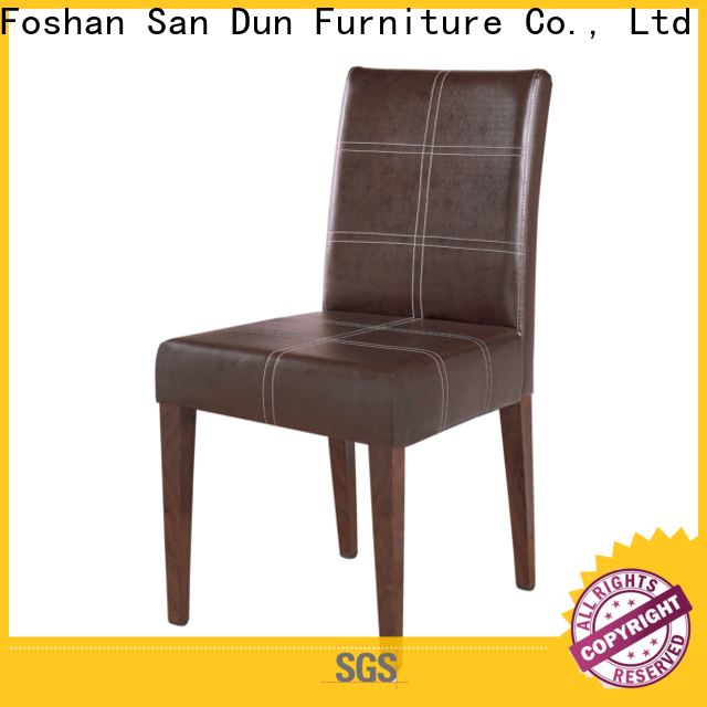 San Dun latest wooden chair design with good price for party