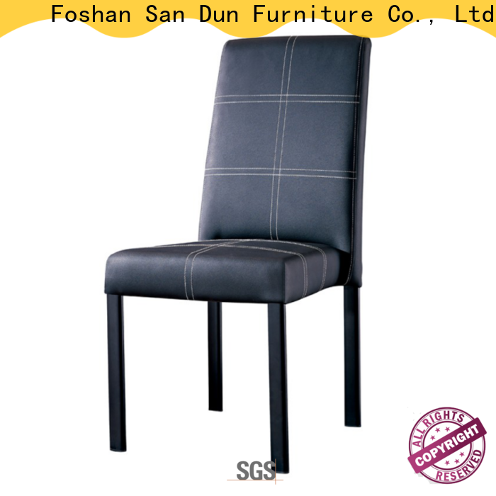 San Dun wooden dining chairs factory for restaurant