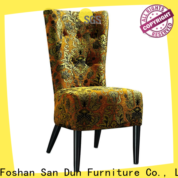 reliable wooden cafe chairs series for sale