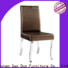 elegant wood dining chairs with upholstered seats company for wedding