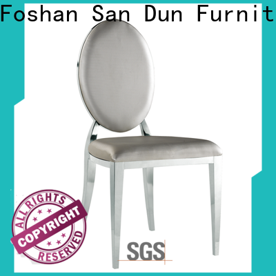 San Dun stable metal wood chairs supplier for restaurant